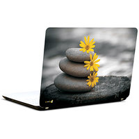 Pics And You Yellow Flowers 3M/Avery Vinyl Laptop Skin Decal-AB052