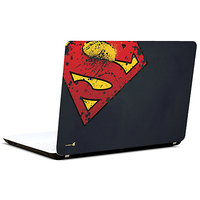 Pics And You Superman Logo Bashed 3M/Avery Vinyl Laptop Skin Decal-SH032