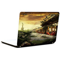 Pics And You Abstract City View 3M/Avery Vinyl Laptop Skin Decal-AB246