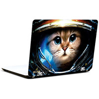 Pics And You Cat With Helmet 3M/Avery Vinyl Laptop Skin Decal-AB164