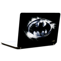 Pics And You Batman Logo Black N Grey3M/Avery Vinyl Laptop Skin Decal -SH097