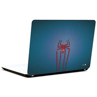 Pics And You Spideman Logo On Blue 3M/Avery Vinyl Laptop Skin Decal-SH020