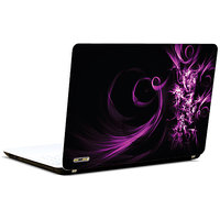 Pics And You Abstract Purple N Black3 3M/Avery Vinyl Laptop Skin Decal-AB229