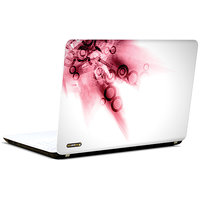 Pics And You Abstract Circles Pink 3M/Avery Vinyl Laptop Skin Decal-AB201