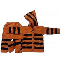 Baby soft Woolen Wear (3 Piece suit)