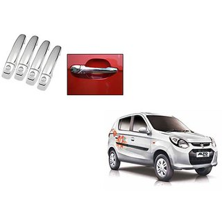 Takecare Chrome Catch Cover For Maruti Alto-800