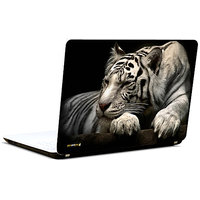 Pics And You 3D White Tiger 3M/Avery Vinyl Laptop Skin Decal-AM080