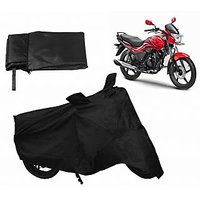 Relax Bike Body Cover For HERO PASSION X-PRO - Black