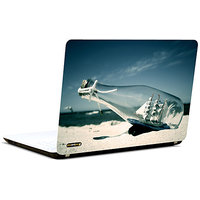 Pics And You Ship In Bottle 3M/Avery Vinyl Laptop Skin Decal-AM024