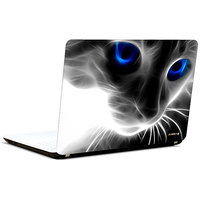 Pics And You 3D Cat Blue Eyes 3M/Avery Vinyl Laptop Skin Decal-AM066