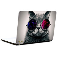 Pics And You Cat With Shades 3M/Avery Vinyl Laptop Skin Decal-AM010