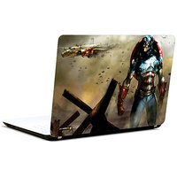 Pics And You Captain America Abstract 3M/Avery Vinyl Laptop Skin Decal - FT015