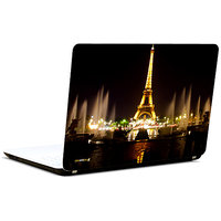 Pics And You Eiffel Tower Night View 3M/Avery Vinyl Laptop Skin Decal-CS023
