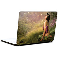 Pics And You Beautiful Girl Abstract 2 3M/Avery Vinyl Laptop Skin Decal - FT042
