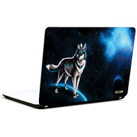 Pics And You Wolf In Dark 2 3M/Avery Vinyl Laptop Skin Decal - FT025