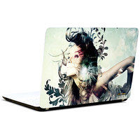 Pics And You Beautiful Girl Abstract 3 3M/Avery Vinyl Laptop Skin Decal - FT053