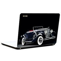 Pics And You Vintage Black Beauty Car 3M/Avery Vinyl Laptop Skin Decal-CA040