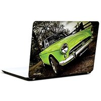 Pics And You Green Vintage Car 3M/Avery Vinyl Laptop Skin Decal-CA028