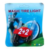 Colorfull Magic Tire Flashing Flash Wheel Lights For All Bikes And Cars En