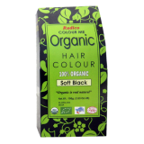 Radico Colour Me Certified Organic Hair Colour Soft Black