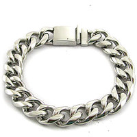 Men's Jewellery Designer Stylish New Stainless Steel Chain Bracelet GBS031