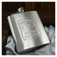 Brand New Stainless Steel Jack Hip Flask Daniels Whisky Hip Flask