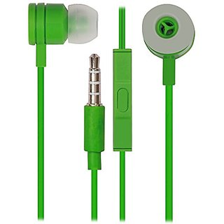 Kewin Clear Quality Sound Earphone Paper Box For MIee (Color Green/May Very)