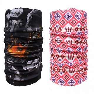 Sushito Combo Of Two Multi Use Bandana JSMFHMA0611-JSMFHMA0616