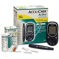 Accu -Chek Active Glucose Monitor With 10 Free Strips