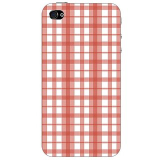 Designer Plastic Back Cover For Apple iPhone 4