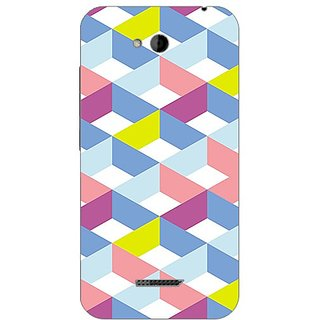 Designer Plastic Back Cover For HTC Desire 616