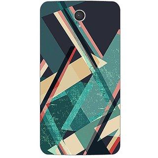 Designer Plastic Back Cover For Lenovo A850