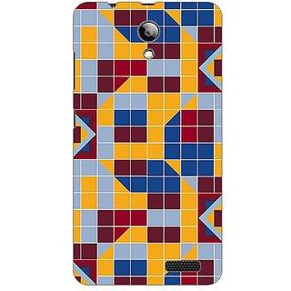 Designer Plastic Back Cover For Lenovo RocStar A319