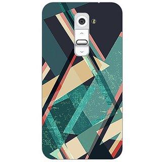 Designer Plastic Back Cover For LG G2