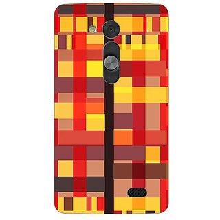 Designer Plastic Back Cover For LG L Fino