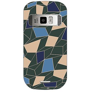 Garmor Designer Plastic Back Cover For Nokia C7