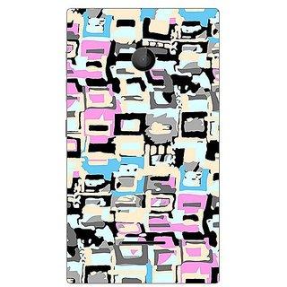 Garmor Designer Plastic Back Cover For Nokia Lumia 435