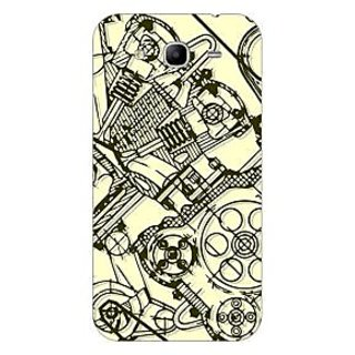 Garmor Designer Plastic Back Cover For Samsung Galaxy Mega 5.8 i9150