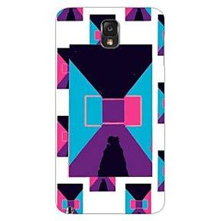 Garmor Designer Plastic Back Cover For Samsung Galaxy Note 3 N9000
