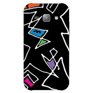 Garmor Designer Plastic Back Cover For Samsung J1 Ace