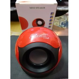 Multimedia Speaker 3.5 MM Jack Rechargable with (Hiper Sound) (Best Quality)