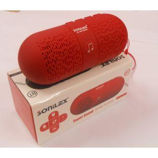 Digital Sound Sonilex Bluetooth Speaker By Brandedking(RED)