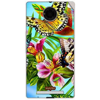 Instyler Mobile Skin Sticker For Micromax Yuphoria Yu5010 MSMMXYUPHORIAYU5010DS-10047 CM-47