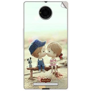 Instyler Mobile Skin Sticker For Micromax Yuphoria Yu5010 MSMMXYUPHORIAYU5010DS-10074 CM-74