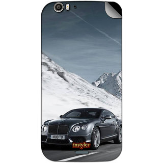 Instyler Mobile Skin Sticker For Micromax Canvas Turbo A250 MSMMXCANVASTURBOA250DS-10033 CM-833