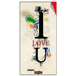 Instyler Mobile Skin Sticker For Micromax Canvas Xpressa99 MSMMXCANVASXPRESSA99DS-10122 CM-602