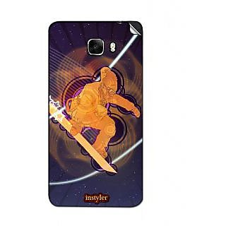 Instyler Mobile Skin Sticker For Micromax Canvas Nitro A311 MSMMXCANVASNITROA311DS-10143 CM-1583