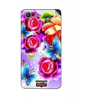 Instyler Mobile Skin Sticker For Micromax Canvas Spark 2Q334 MSMMXCANVASSPARK2Q334DS-10077 CM-1197