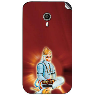 Instyler Mobile Skin Sticker For Micromax Canvas Lite A92 MSMMXCANVASLITEA92DS-10099 CM-2499
