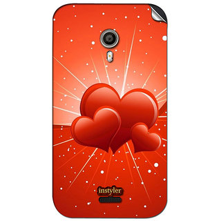Instyler Mobile Skin Sticker For Micromax Canvas Lite A92 MSMMXCANVASLITEA92DS-10045 CM-2445
